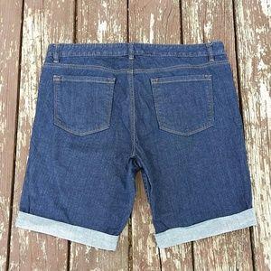 LOFT Shorts - Ann Taylor LOFT Bermunda Jean Shorts